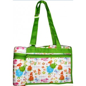 Buy Herbal Morisons Baby Dreams Bag With Bottle Warmer (Green) - Nykaa