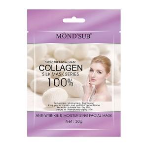 Buy Herbal Mond'Sub Anti-Wrinkle & Moisturizing Facial Mask (Pack of 8) - Nykaa