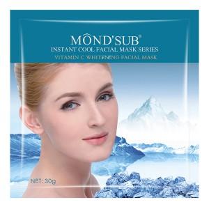 Buy Mond'Sub Vitamin C Whitening Facial Mask (Pack of 4) - Nykaa