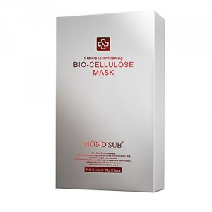Buy Mond'Sub Flawless Whitening Bio-Cellulose Mask (Pack of 4) - Nykaa