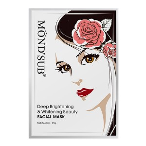 Buy Mond'Sub Deep Brightening & Whitening Beauty Facial Mask (Pack of 1) - Nykaa