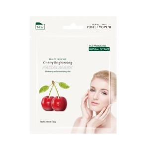 Buy Herbal Mond'Sub Cherry Brightening Facial Mask - Nykaa