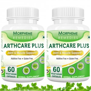 Buy Morpheme Remedies Arthcare Plus Capsules for Joint & Muscle Support - 500mg Extract (Pack of 2) - Nykaa