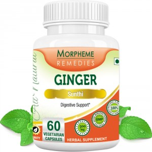 Buy Herbal Morpheme Remediess Ginger Capsules For Digestive Support - 500mg Extract - Nykaa