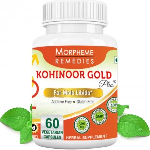 Buy Morpheme Remediess Kohinoor Gold Plus For Male Libido - 500mg Extract - Nykaa