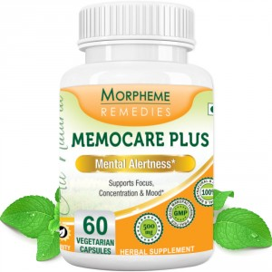 Buy Morpheme Remedies Memocare Plus For Mental Alertness - 500mg Extract - Nykaa