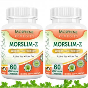 Buy Morpheme Remedies Morslim-Z Weight Loss Formula - 500mg Extract (Pack of 2) - Nykaa