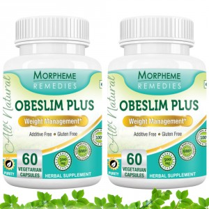 Buy Morpheme Remedies Obeslim Plus for Weight Loss - 500mg Extract (Pack of 2) - Nykaa
