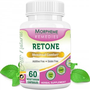 Buy Morpheme Remedies Retone Capsules for Menstrual Comfort - 500mg Extract - Nykaa