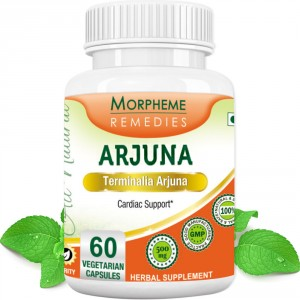 Buy Herbal Morpheme Remedies Terminalia Arjuna Cardiac Support - 500mg Extract - Nykaa