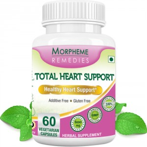 Buy Morpheme Remedies Total Heart Support- For Healthy Heart Support -  500mg Extract - Nykaa