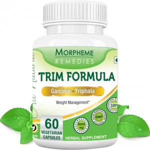 Buy Morpheme Remedies Trim Formula - Garcinia & Triphala For Weight Loss - 600mg Extract - Nykaa