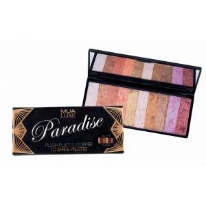 Buy MUA Luxe Paradise Eyeshadow Palette - Nykaa