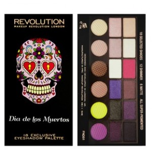 Buy Herbal Makeup Revolution Salvation Eyeshadow Palette - Mexican Day Of the Dead - Nykaa