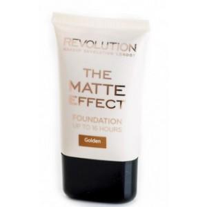 Buy Makeup Revolution Matte Foundation Golden - Nykaa