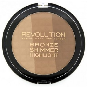 Buy Makeup Revolution Ultra Bronze, Shimmer and Highlight - Nykaa