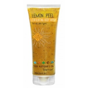 Buy The Nature's Co. Lemon Peel Exfoliating Body Wash - Nykaa