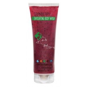 Buy The Nature's Co. Cranberry Exfoliating Body Wash - Nykaa