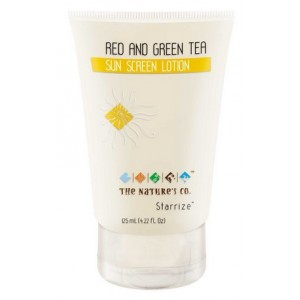Buy The Nature's Co. Red and Green Tea Sunscreen Lotion  - Nykaa