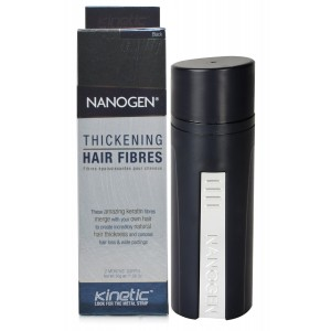 Buy Nanogen Hair Fibre - Black - Nykaa