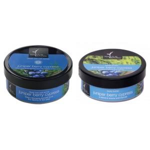 Buy Natural Bath & Body Juniper Berry Cypress Dead Sea Salt Scrub And Juniper Berry And Cypress Body Butter Combo - Nykaa