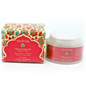 Buy NeoVeda Neem And Green Tea Firming Mask - Nykaa