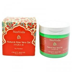 Buy NeoVeda Natural Aloe Vera Gel Hydra-10 - Nykaa