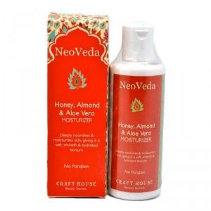 Buy NeoVeda Honey, Almond And Aloe Vera Moisturizer - Nykaa
