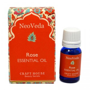 Buy NeoVeda Rose Essential Oil - Nykaa