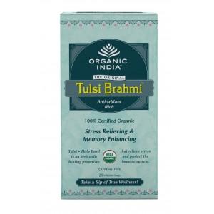 Buy Organic India Tulsi Brahmi Tea (25 Tea bag) - Nykaa
