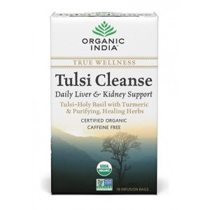 Buy Organic India Tulsi Cleanse Tea (18 Tea Bag) - Nykaa