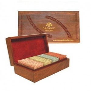 Buy Organic India Super Deluxe Wooden Gift Box - Nykaa