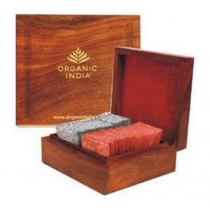 Buy Organic India Executive Deluxe Wooden Gift - Nykaa