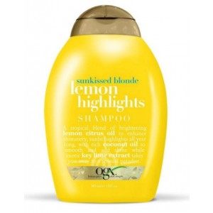 Buy Organix Sunkissed Blonde Lemon Highlights Shampoo - Nykaa