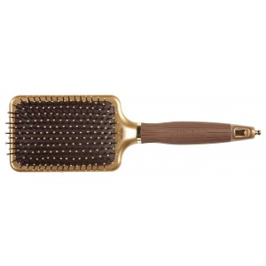 Buy Olivia Garden NanoThermic Ceramic + Ion Shaper Paddle Brush - Nykaa