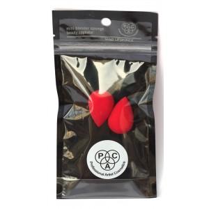 Buy PAC Beauty Blender Sponge (Mini) (2 Pcs) (Red) (Dewdrop) - Nykaa