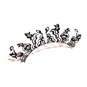 Buy Paperself Designer Eyelashes Peonies - Black - Nykaa
