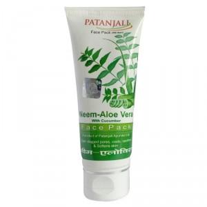 Buy Patanjali Aloevera Neem Cucumber Face Pack - Nykaa