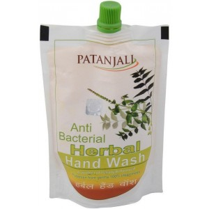Buy Herbal Patanjali Herbal Handwash Refill (Anti Bacterial) - Nykaa