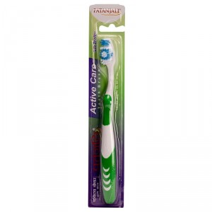 Buy Patanjali Active Care Toothbrush (Color May Vary) - Nykaa