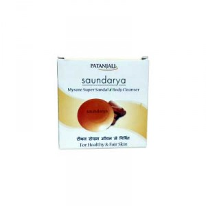 Buy Patanjali Saundarya Sandal Body Cleanser - Nykaa
