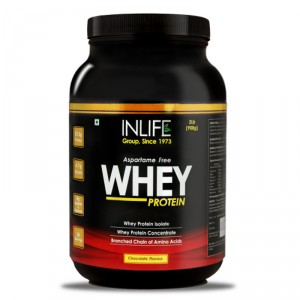 Buy Inlife Whey Protein Chocolate Flavour (2Lb) - Nykaa