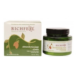 Buy Richfeel Almond Massage Cream - Nykaa