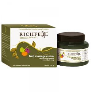 Buy Richfeel Fruit Massage Cream - Nykaa