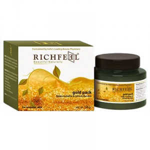 Buy Herbal Richfeel Gold Pack - Nykaa