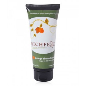 Buy Richfeel Orange Almond Scrub - Nykaa