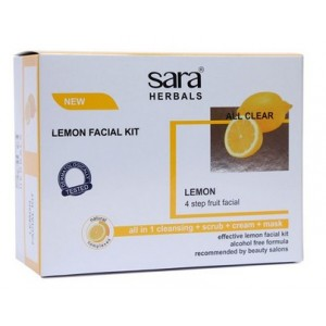 Buy Sara Lemon Facial Kit - Nykaa