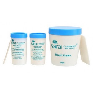 Buy Sara Oxy Bleach Cream - Nykaa