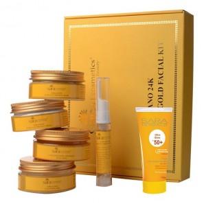 Buy Sara Nano 24k Radiance Gold Facial Kit - Nykaa