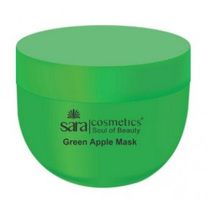 Buy Sara Green Apple Mask - Nykaa